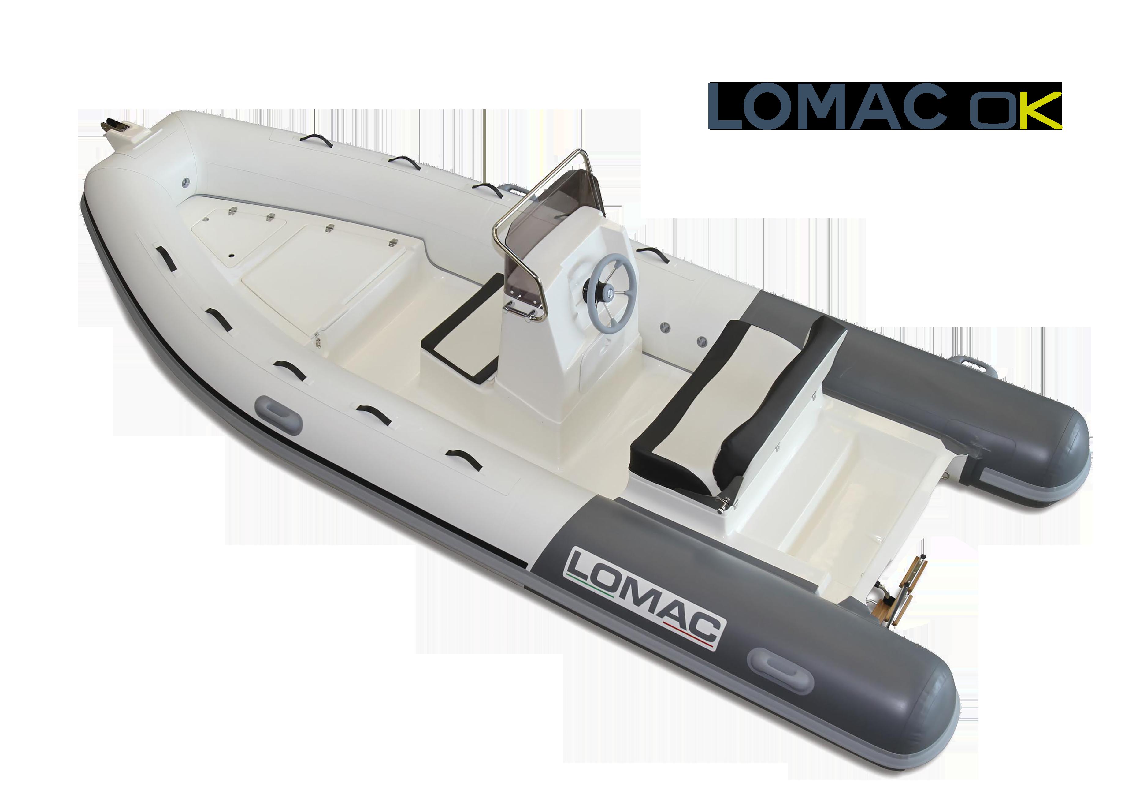 Gamme Semi-rigide Lomac OK Lomac Nautica
