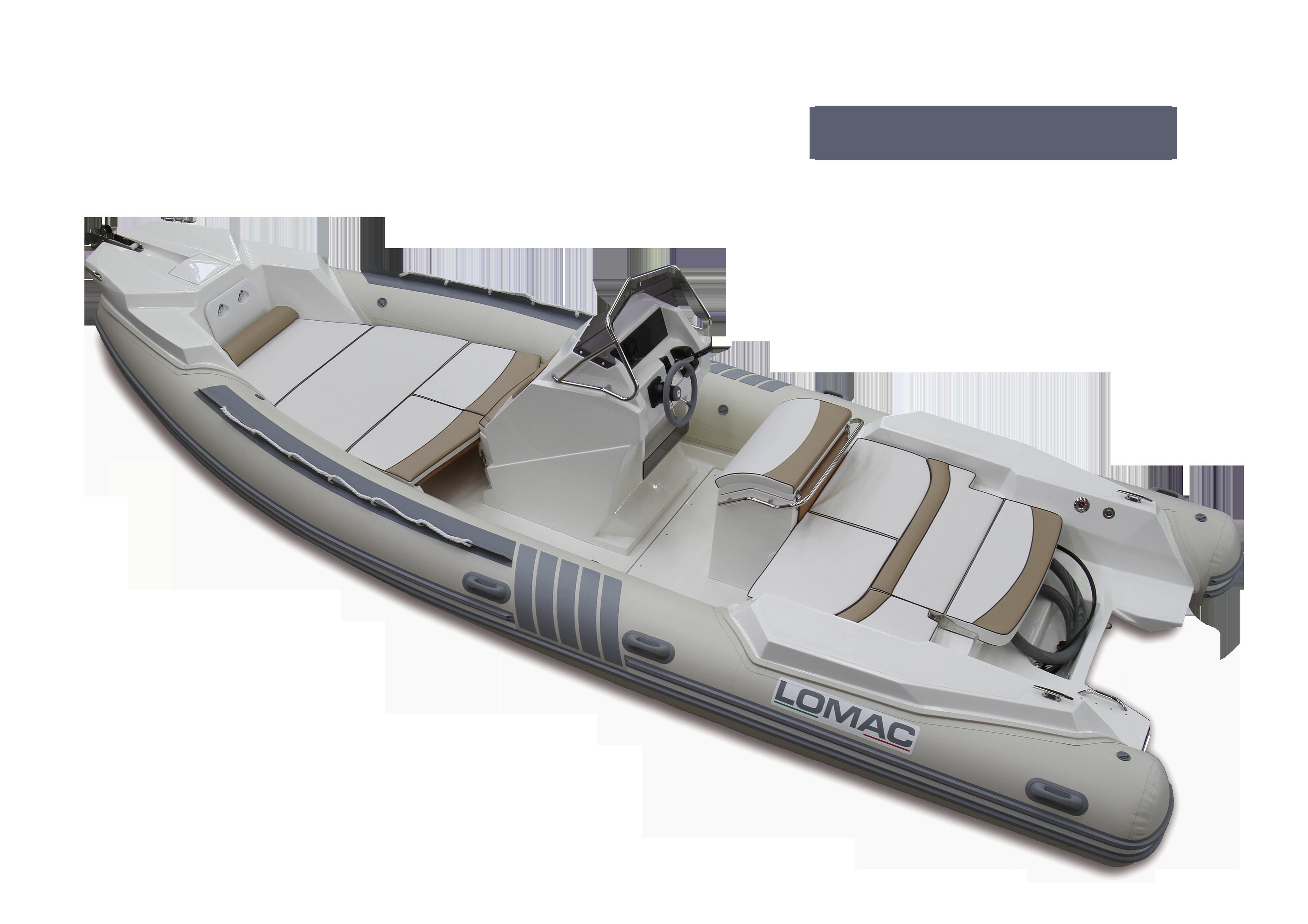 Gamme semi-rigide Lomac IN Lomac Nautica