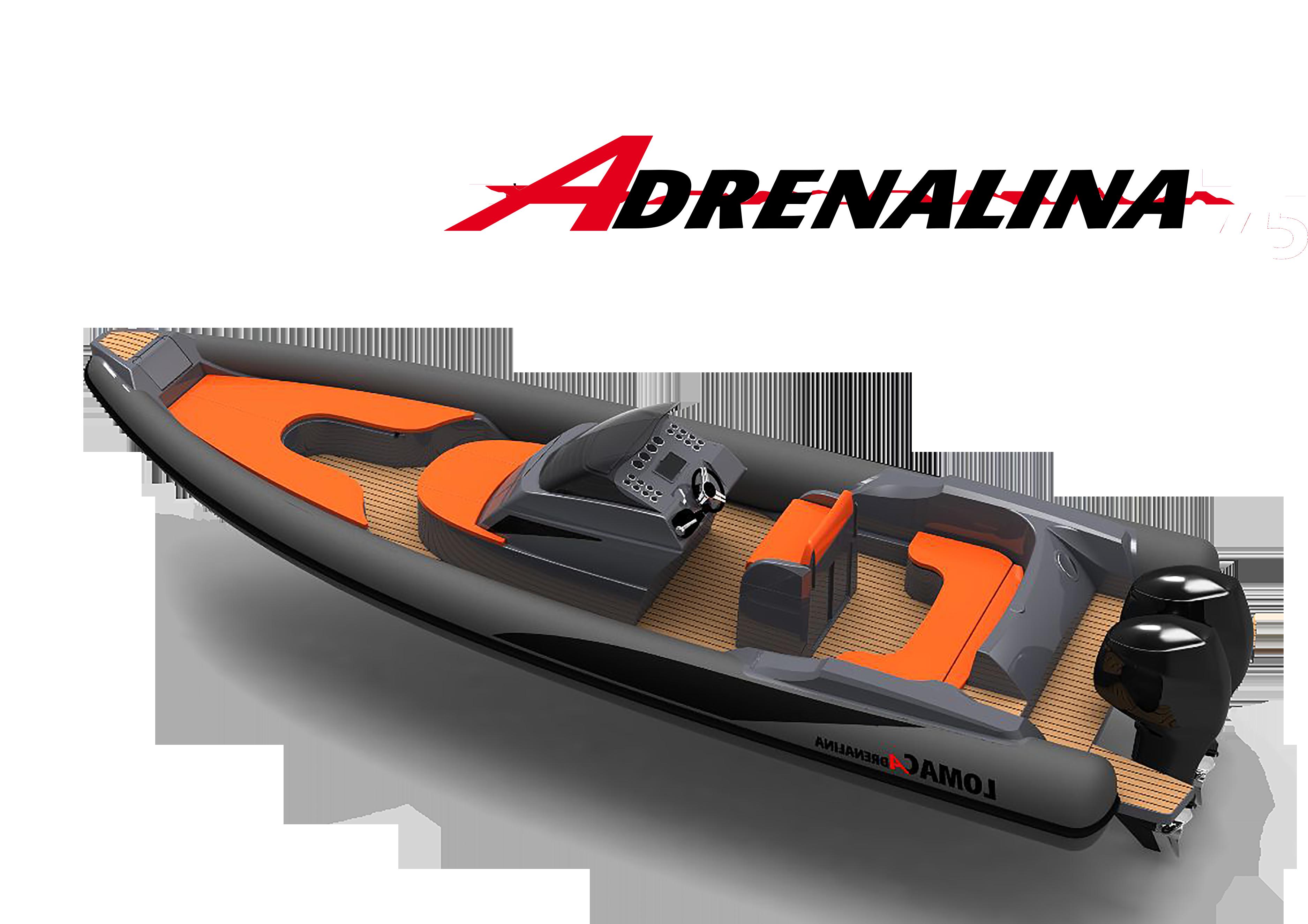 Gamme semi-rigide Lomac Adrenalina Lomac Nautica