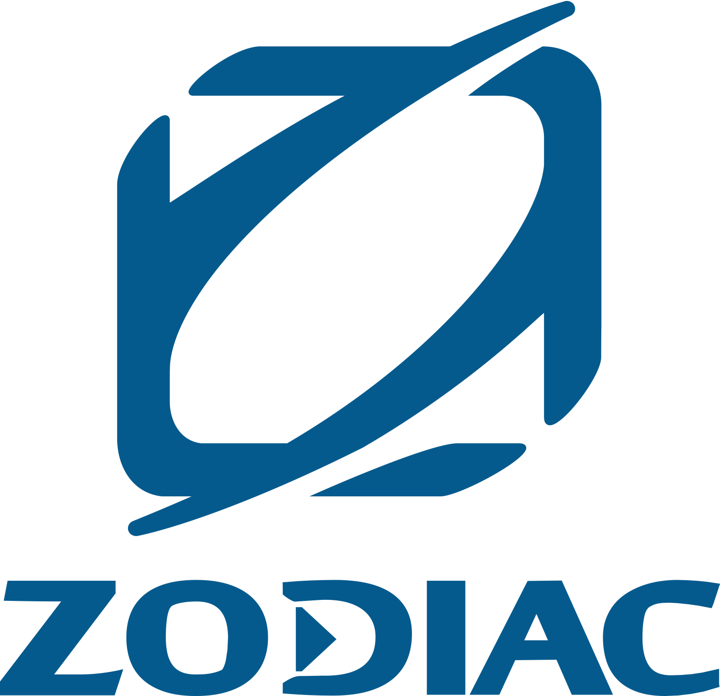 Logo semi-rigide Zodiac Nautic