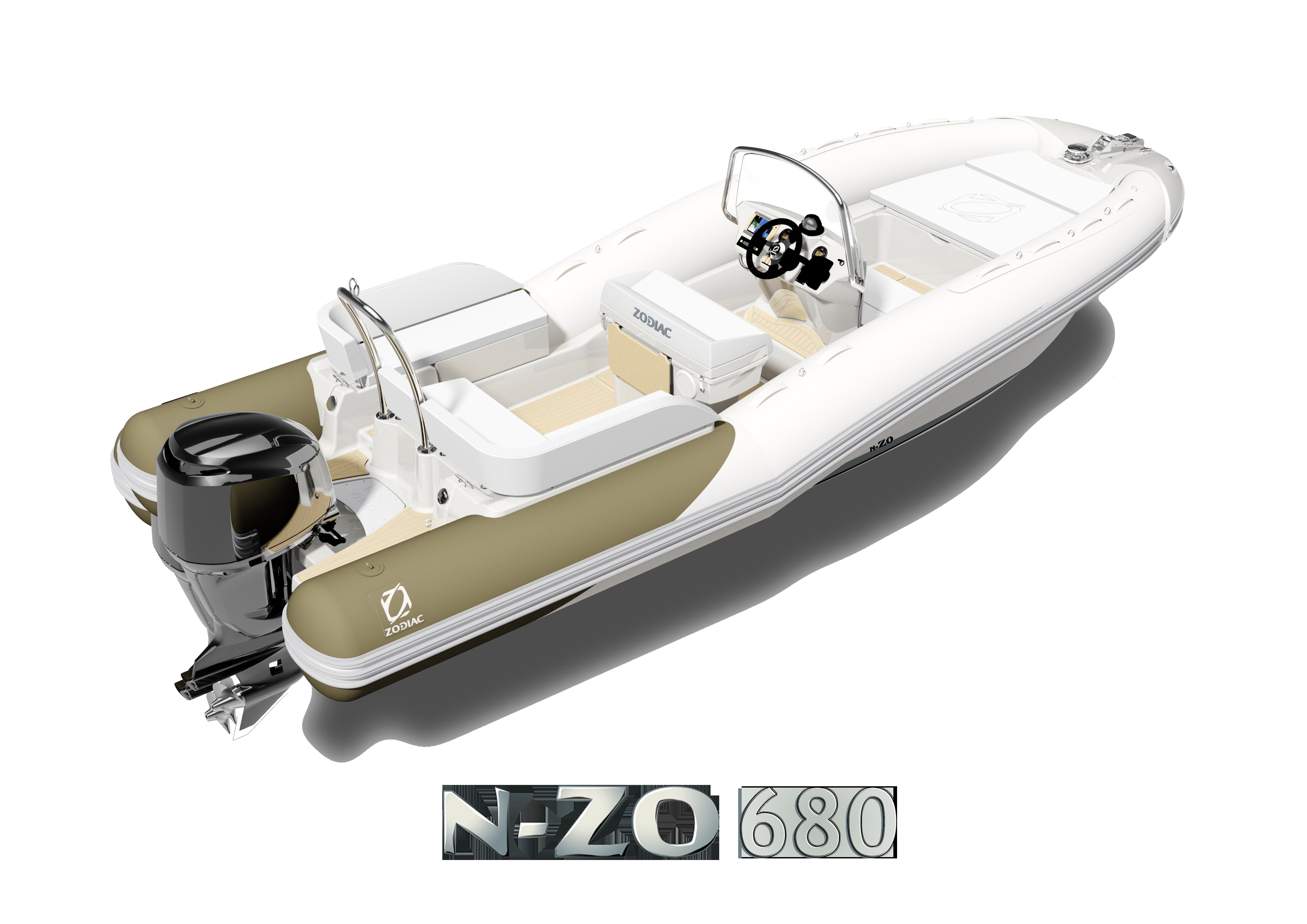 Semi-rigide Zodiac N-ZO 680